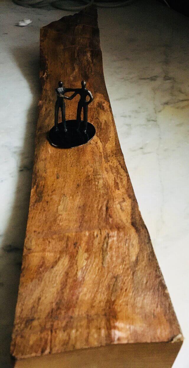 Essenhout als kunstvorm